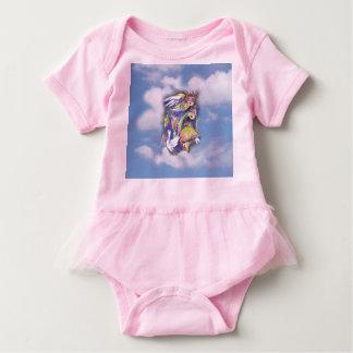 雲のBirdlife ベビーボディスーツ