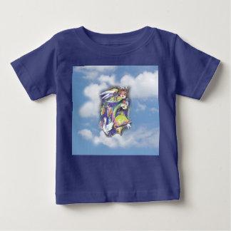 雲のBirdlife ベビーTシャツ