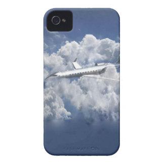 雲のIphone 4sカバーの飛行機 Case-Mate iPhone 4 ケース
