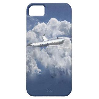雲のIphone 5sカバーの飛行機 iPhone SE/5/5s ケース