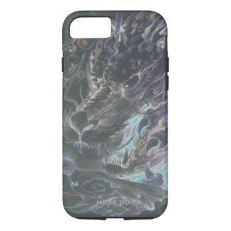 雲のUNRYUの雲龍のドラゴン iPhone 7ケース