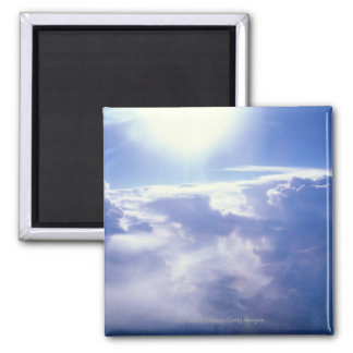 雲を通ってよじ登る日曜日 マグネット
