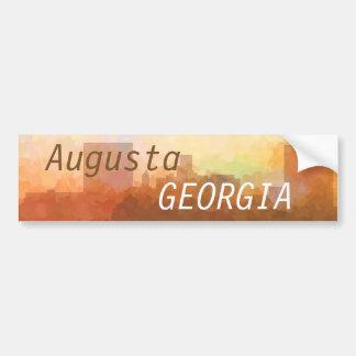 雲ステッカーのオーガスタ、ジョージアのスカイライン バンパーステッカー