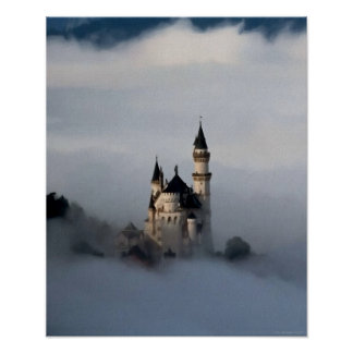 雲ポスターの城 ポスター