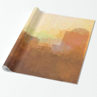 雲包む紙のオーガスタ、ジョージアのスカイライン 包み紙