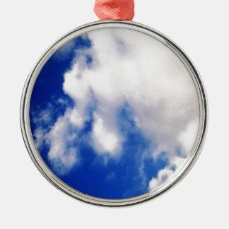 雲及び青空 メタルオーナメント