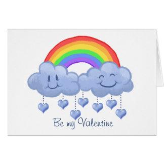 雲愛バレンタインデー カード