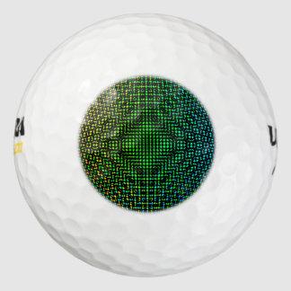 雲紋のチェッカー ゴルフボール