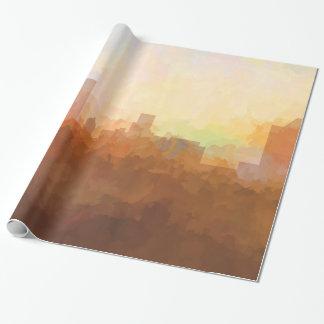 雲紙のオーガスタ、ジョージアのスカイライン 包み紙