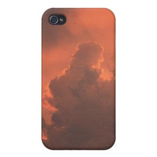 雲4/4sの日没 iPhone 4/4Sケース