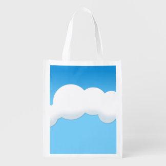 雲 エコバッグ