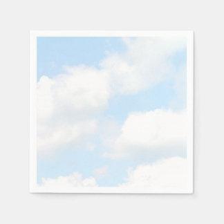雲 スタンダードカクテルナプキン