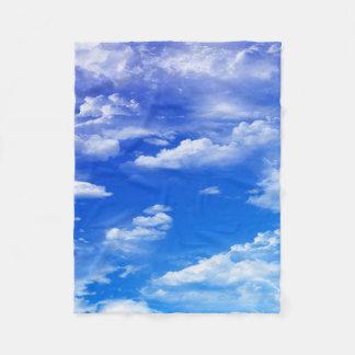 雲 フリースブランケット