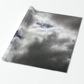 雲 ラッピングペーパー