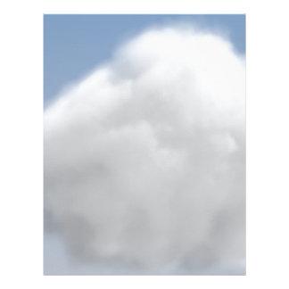 雲 レターヘッド