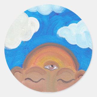 雲#2 .jpgの頭部 ラウンドシール