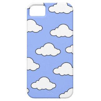 雲IPHONEの箱が付いている青空 iPhone SE/5/5s ケース