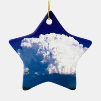 雲Thunderheadシドニーネブラスカ セラミックオーナメント