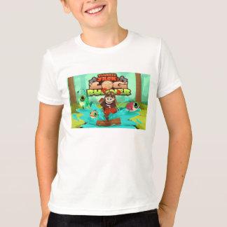 雷ジャックの子供のアメリカの服装のTシャツ Tシャツ