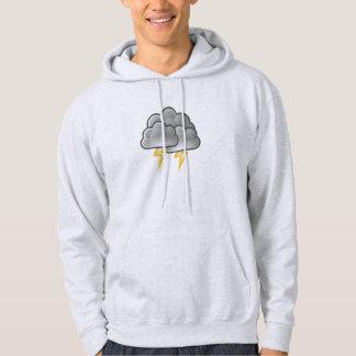 雷雨の稲妻 パーカ