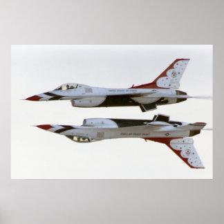 雷鳥の操縦-鏡 ポスター