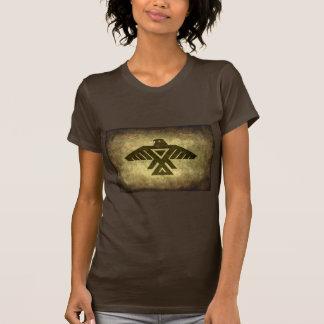 雷鳥-ヴィンテージの羊皮紙の質 Tシャツ