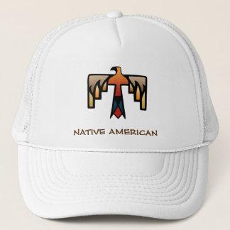 雷鳥-原産のアメリカインディアンの記号 キャップ