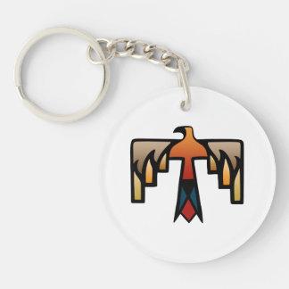 雷鳥-原産のアメリカインディアンの記号 キーホルダー