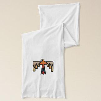 雷鳥-原産のアメリカインディアンの記号 スカーフ