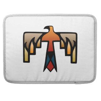 雷鳥-原産のアメリカインディアンの記号 MacBook PROスリーブ