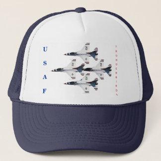 雷鳥F-16のダイヤモンドの帽子 キャップ