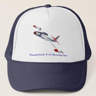 雷鳥T-33の流星の帽子 キャップ