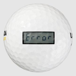 電子エラーメッセージのゴルフ・ボール ゴルフボール
