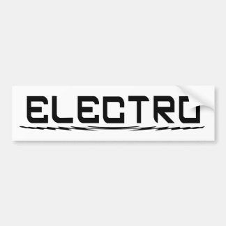 電子バンパーステッカー バンパーステッカー