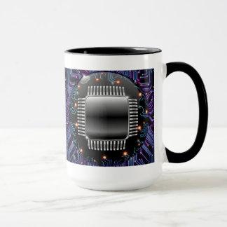 電子マザーボード回路のマグ マグカップ