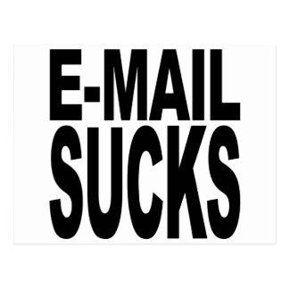 電子メールの最低 ポストカード