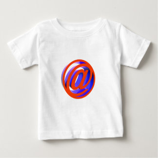 電子メールアイコン ベビーTシャツ