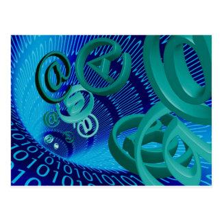 電子メール ポストカード