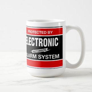 電子警報システム コーヒーマグカップ