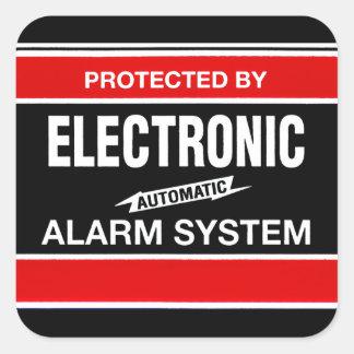 電子警報システム スクエアシール