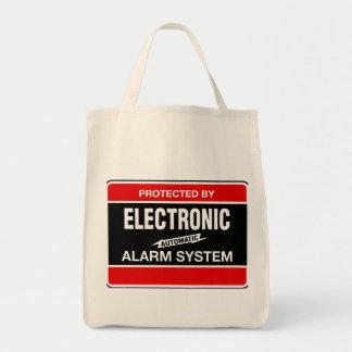 電子警報システム トートバッグ