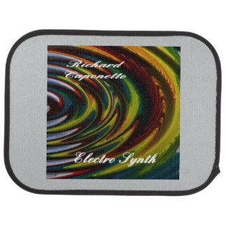 電子Synthのためのアルバムカバーが付いている車のフロアマット カーマット