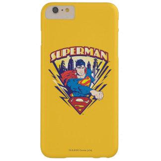 電気のスーパーマン BARELY THERE iPhone 6 PLUS ケース