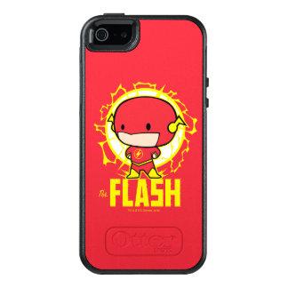 電気のチビ(小さくかわいく書いた感じ)のフラッシュ オッターボックスiPhone SE/5/5s ケース