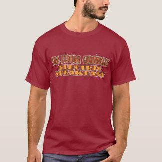 電気もぐり酒場色のワイシャツ Tシャツ