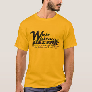 電気ウォルト・ホイットマン Tシャツ