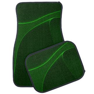 電気オーロラの緑の色合い カーマット