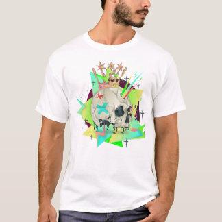 電気スカル Tシャツ