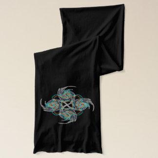 電気中国のな星 スカーフ