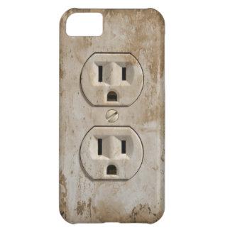 電気出口 iPhone5Cケース